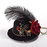 GRACEART Steampunk Mini Parte Superior Sombrero Disfraz Accesorio