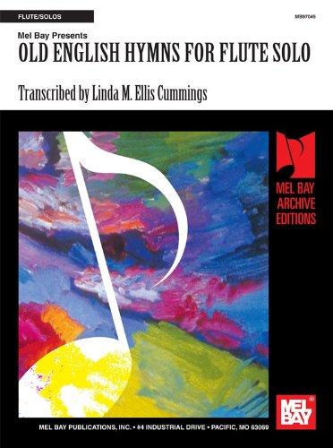 Old English Hymns for Flute Solo. Partitions pour Flûte Traversière