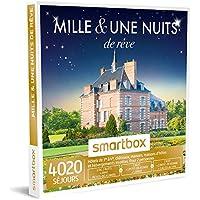 SMARTBOX - Coffret Cadeau - MILLE ET UNE NUITS DE RÊVE - 4020 hôtels 3 et 4*, domaines, maisons d'hôtes et hébergements insolites dans toute la France