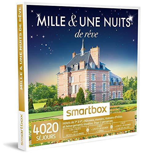 SMARTBOX - Coffret Cadeau homme femme couple - Mille et une nuits de rêve - idée...