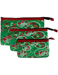 Multi Purpose Pouches And Bag(Set Of 3 L/M/S)Digital Printed - B019F7CKWY