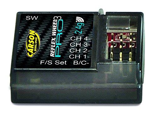 Carson 500501533 - Empfänger Reflex Wheel PRO 3, 2.4 GHz