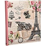 Large Memories Memo Slip In Case Photo Album For 120 Photos 5 x 7'' Travel Album By Arpan by ARPAN