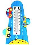 3-D Effekt - Thermometer -