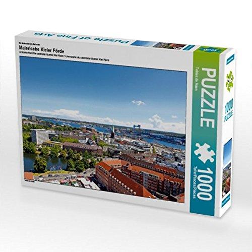 Ein Motiv aus dem Kalender Malerische Kieler Förde 1000 Teile Puzzle quer (CALVENDO Orte)