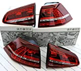 LED Rückleuchten VW Golf 7 GTI kirschrot, Original Tuning