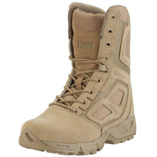 Magnum Elite Spider 8.0 MUF2071032, Herren Combat Boots, Braun (Sand 009), EU 41 (UK 7) (US 8) (Full-grain-sand)