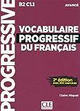 Vocabulaire progressif du français - Niveau avancé - 2ème édition - Nouvelle couverture - Livre + CD