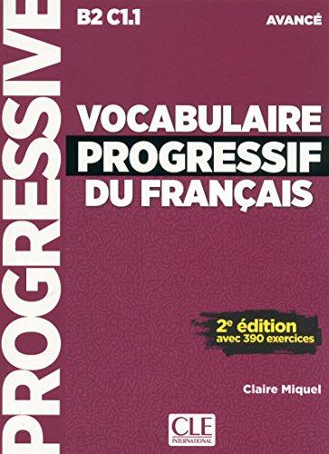Vocabulaire Progressif Du Français (+ CD) - 2º Edition (Progressive du français) por Claire Miquel