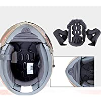 DZTIZI Modular Motorcycle Helmets Certification Flip Up Touring Helmets Built-In Dual-Speaker Bluetooth Headset With Microphone For Automatic Answering,M(57~58CM)