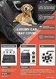 Lifepul(TM) Housse de siège Pour Chien & Chat Housse protection Hamac voiture chien imperméable anti-rayures Taille universelle/grande(138*148cm) pour Voiture/VUS/Camion confortable...