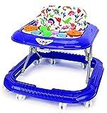 Babywagen Laufhilfe Lauflernhilfe Babywalker Gehhilfe Blau