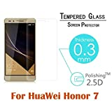 Huawei Honor 7 Schirm-Glasschutz, Fulltime® 0.3mm 2.5D Runde Kante Full Coverage 5,2