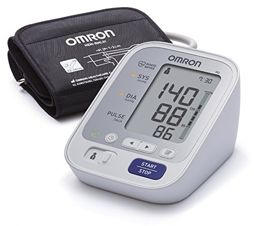 Omron M3 + Oberarm digitales Blutdruckmessgerät