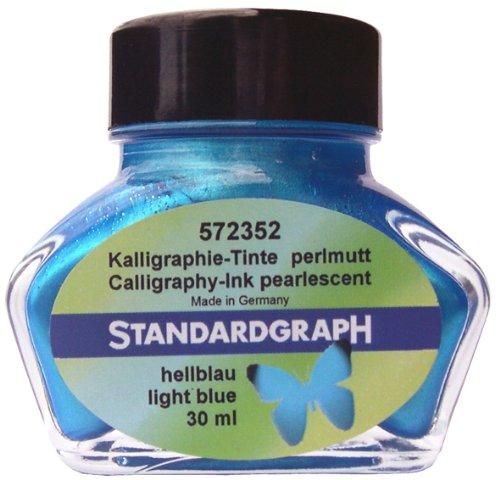 Standardgraph Perlmutt - Tinte hellblau 30 ml