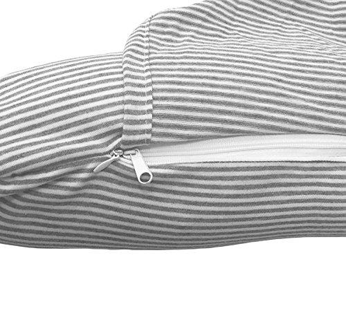 bonVIVO Oreiller à Capuche pour Cervicales, Oreiller De Cou pour Cervicales en Forme De U, Oreiller De Voyage Ou pour Avion, pour Femmes Et Hommes, Oreiller De Maintien du Cou avec Microbilles