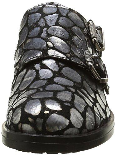 Donna Piu Damen 9989 Lia Slipper Silber - Argent (Sauron Antracite)