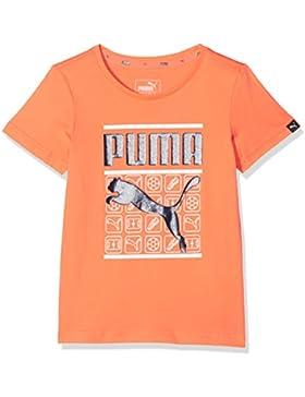Puma Niños Style Graphic tee Camiseta, Infantil, Style Graphic tee, Melon, 164