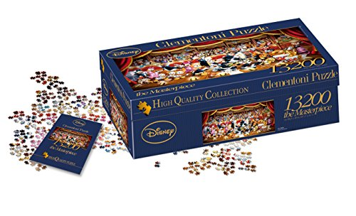 Clementoni- Disney Orchestra High Quality Collection Puzzle, 13200 pezzi, 38010