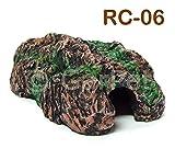 Terrarium Reptilien Höhle Schlangenhöhle Felshöhle Deko (RC-06)
