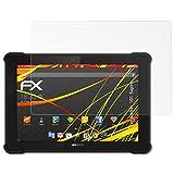 atFolix Folie für Archos 101 Saphir Displayschutzfolie - 2 x FX-Antireflex-HD hochauflösende entspiegelnde Schutzfolie