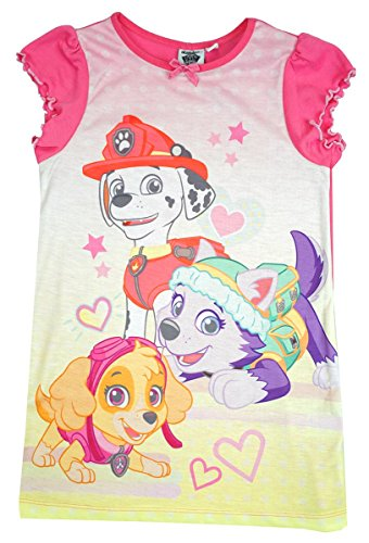 Girls Official Paw Patrol Skye Everest Marshall Puppy Dog Nightdress sizes from 2 to 8 Years