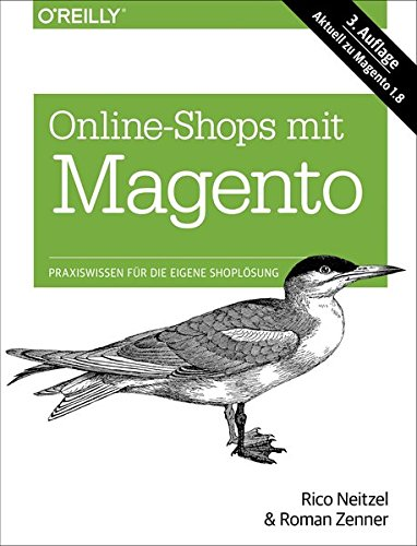Online-Shops mit Magento Buch-Cover