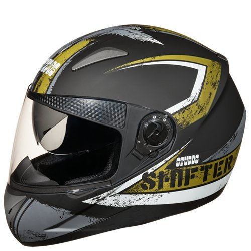 Studds Shifter D1 Helmet (Matt Black N3, M)