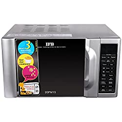 IFB 20 L Solo Microwave Oven (20PM1S, Metallic Silver)