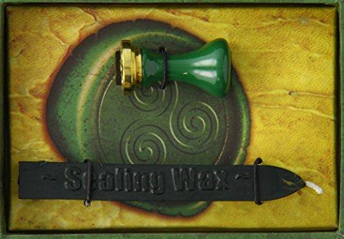 Cire a cacheter naturelle : sceau celtiq...
