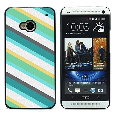 Graphic4You GOLD BRUSH TEXTURES Muster Harte Hülle Case Tasche Schutzhülle für HTC One (M7) Design #19