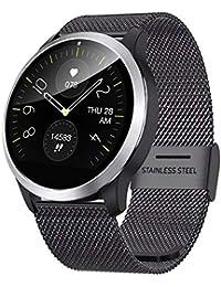 TCYLZ Reloj inteligente con electrocardiograma Z03, para hombres y mujeres al aire libre, reloj deportivo inteligente, impermeable, monitor de oxígeno y presión arterial, para Android e iOS