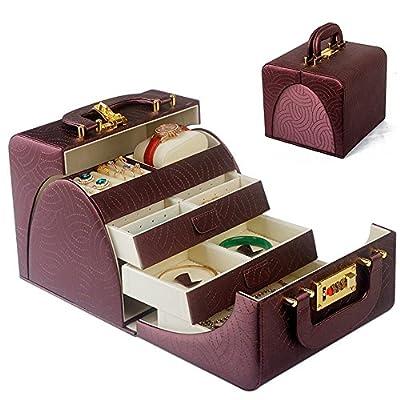 XUEQ European Style Handmade Jewelry Storage Box Gift Box Storage Organizer - low-cost UK light shop.