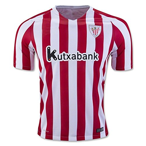 2f39c4a40f8c8 2016 2017 Athletic Bilbao FC Gorka iraizoz Markel susaeta Home Football Soccer  Jersey in Rot Medium