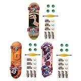 Kofun 1 Juego de Fingerboard, Aleación de Soporte Finger Skateboard Fingerboard Skate Trucks Kid Juguetes Regalo de los niños Color Aleatorio