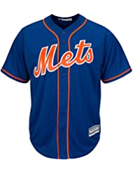 Majestic new york mets cool base de maillot de baseball mLB domicile bleu