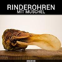 Rinderohren mit Muschel - 1000g - von George and Bobs -
