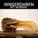 Rinderohren mit Muschel - 1000g | Deutsche Ohren |Kein Import | Riesen Muschel | Kausnack von George and Bobs -