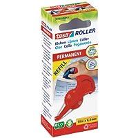 TESA Roller - adhésifs et colles (Rouge) - Lot de 5
