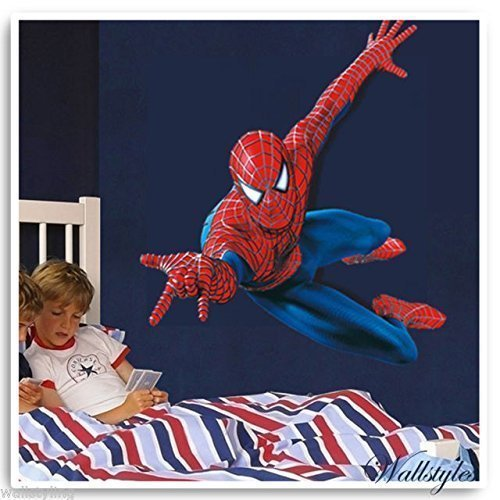 amazing-spiderman-kids-wall-sticker-vinyl-large-art-decal-perfect-as-a-gift-by-tellmeo