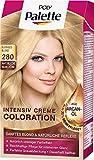 Poly Palette Intensiv Creme Coloration, 280 pudriges blond stufe 3, 3er Pack (3 x 1 Stück)