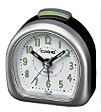 Casio - TQ-148-8EF - Alarm Clock - Quarzuhrwerk - Analogue - Alarm - Bracelet Kautschuk schwarz