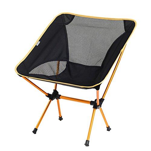 camping klappstuhl Leichte, langlebige Outdoor-Sitz - Perfekt für Camping, Festivals, Garten, Caravan Trips, Angeln, Strand, BBQs ( Farbe : 1 )