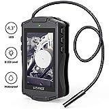 HOMIEE Caméra d'inspection numérique avec écran LCD 4,3',...