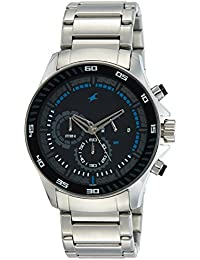 Fastrack Chrono Upgrade Analog Black Dial Men's Watch -NK3072SM03