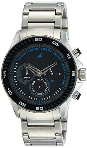 Fastrack Chrono Upgrade Analog Black Dial Men's Watch - ND3072SM03 image