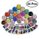 SUPVOX BRICOLAGE Bougie Cire Colorant 24 Couleurs Teinture Chips pour Aromathérapie Bougies
