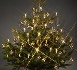 24 LED Weihnachtskerzen mit Stecksystem Trango TG340146