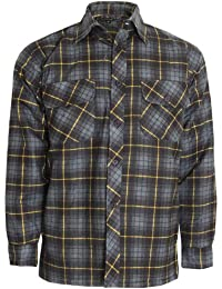 NEW MENS FLANNEL LUMBER JACK CHECK BRUSHED CASUAL COTTON WORK SHIRT SLEEVE ALL COLOUR AND SIZE ARE AVAILABLE IN LISTING