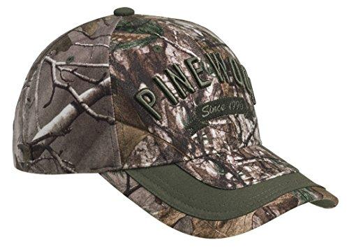 PINEWOOD® ANNIVERSARY CAMOU CAP Pinewood 8294 Camou Kappe Cap Jagd Jagdcap Xtra/Mossgrün (942) (Jagd Cap)
